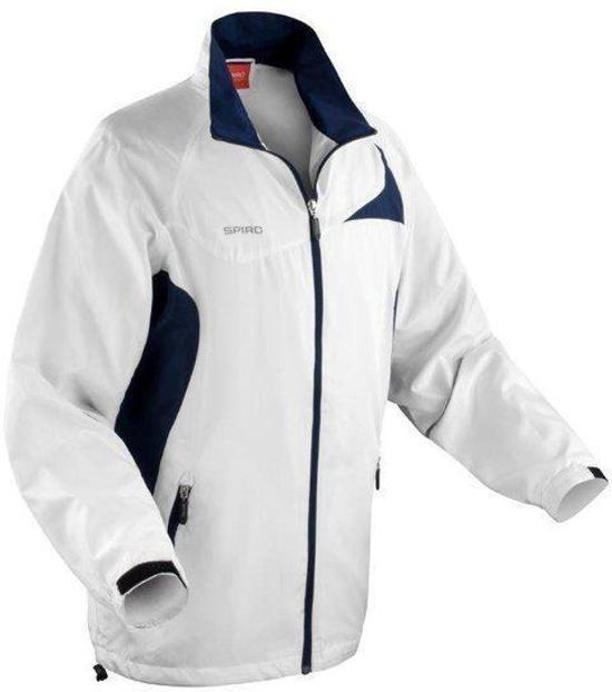 Team Kleur lite Jacket Navy Micro Maat White Spiro L PE6qII