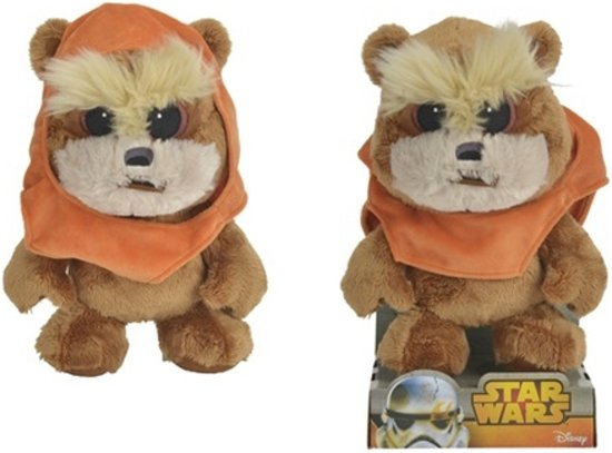 disney star wars wicket knuffle 25 cm. Black Bedroom Furniture Sets. Home Design Ideas