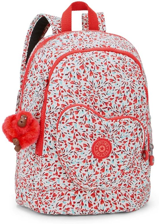 5c11a9167cd bol.com | Kipling Heart Backpack - Rugzak - Kinderen - Sweet Flower