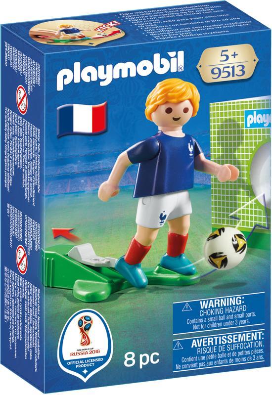 PLAYMOBIL Nationale voetbalspeler Frankrijk - 9513