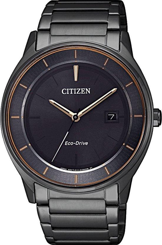 Citizen BM7407-81H Horloge Heren Ecodrive Staal Zwart