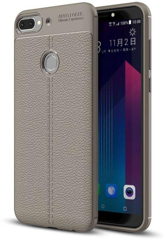Just in Case HTC Desire 12 Plus Back Cover Soft TPU Grijs