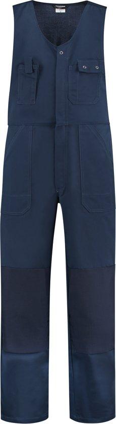 Yoworkwear Bodybroek katoen/polyester navy maat 60