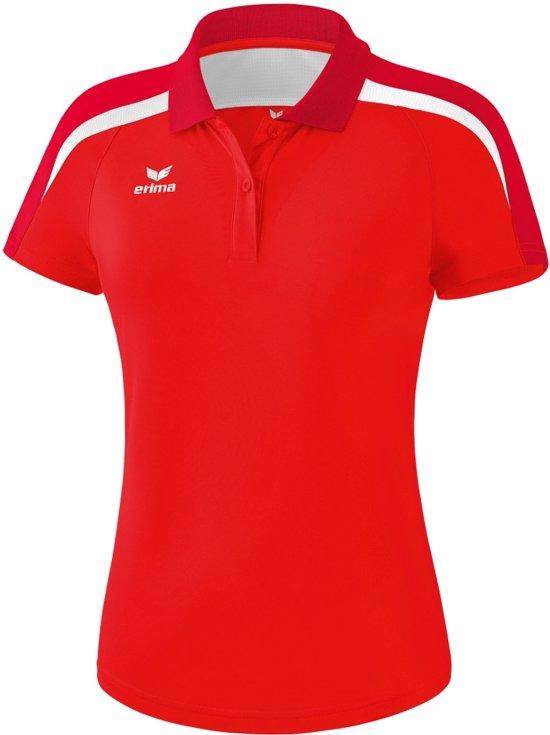 2 donkerrood Liga 0 wit Polo Sportpolo Erima DamesRood y76bYfg