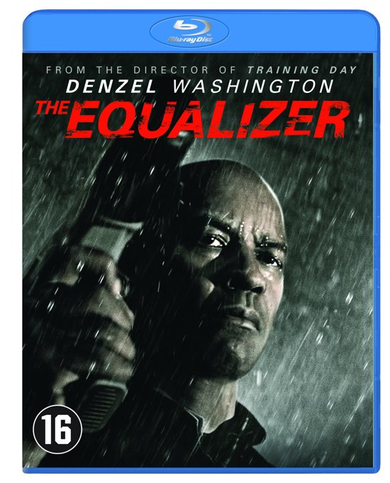DVD cover van The Equalizer (Blu-ray)
