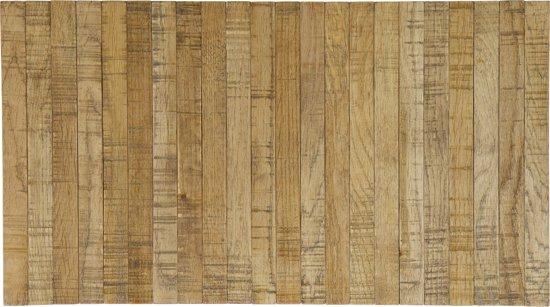 Woood - flexibel dienblad - armleuning - eiken - antique finish