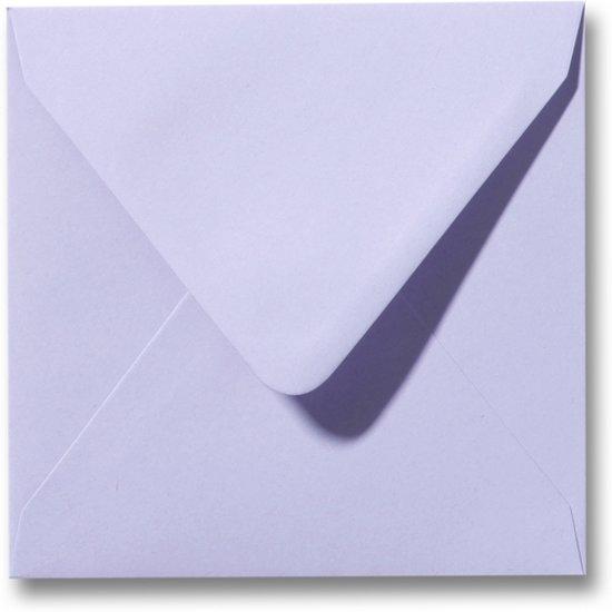 Envelop 14 x 14 cm Lavendel 100 stuks