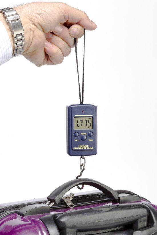 Digitale koffer bagage weegschaal - Reis weegschaal - Travel luggage scale