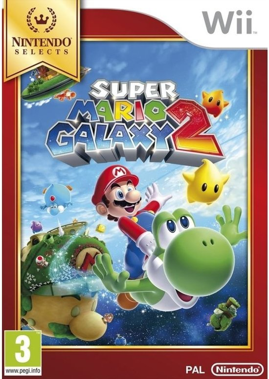 Super Mario Galaxy 2 - Nintendo Selects - Wii