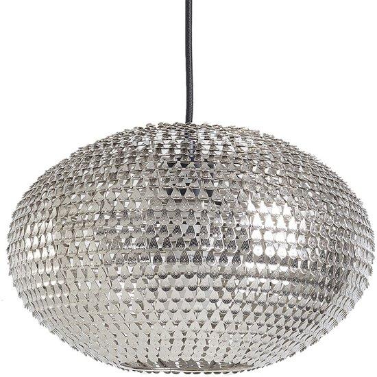bol beliani reine hanglamp metaal zilver
