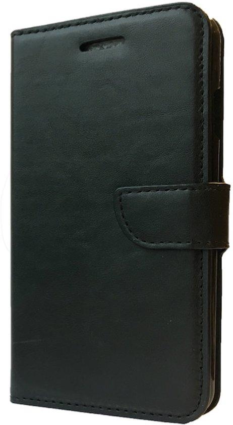 Zwart boekhoesje Samsung S3 mini i8190 skye leer