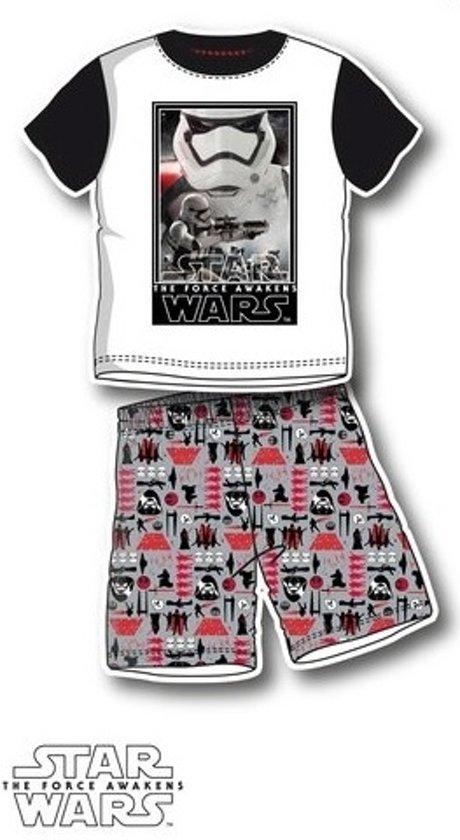 Starwars pyjama, Star Wars shortama maat 98/104