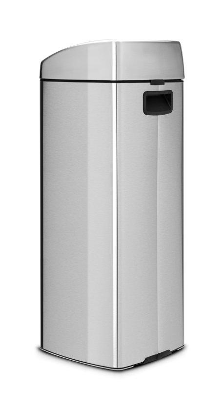 Brabantia Touch Bin Vierkant 25 Liter Matt Steel Fingerprint Proof