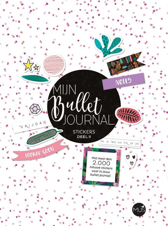 Boek cover Mijn Bullet Journal Stickers Deel 2 van Diverse auteurs (Paperback)
