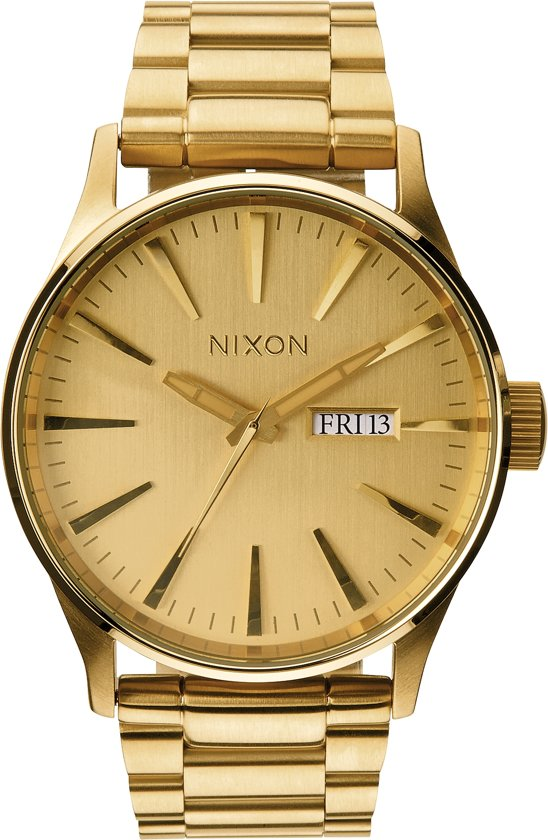 Nixon Sentry SS All Gold horloge A356502
