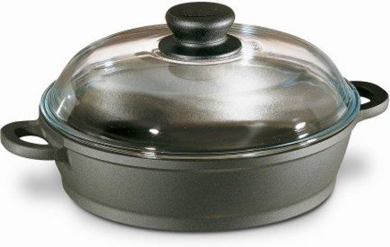 Berndes Bonanza Kookpot met Glazen Deksel 16 cm