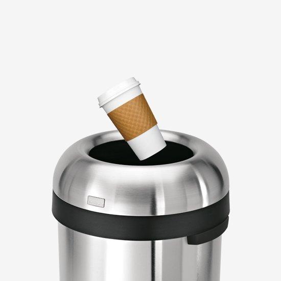 Simplehuman Bullet Open Top Can 115 liter