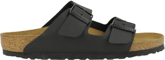 Birkenstock Arizona - Slippers - Heren - Zwart - Maat 39