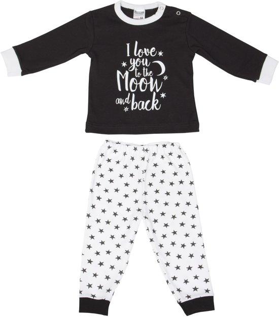 Maat 62 Babykleding.Bol Com Baby Pyjama Beeren To The Moon Zwart Maat 62 68
