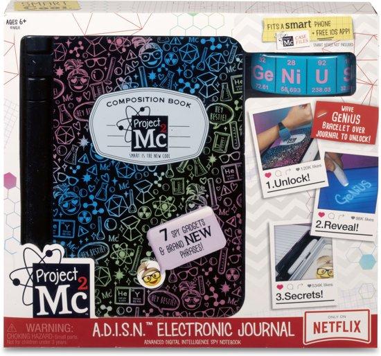 Afbeelding van Project Mc2 A.D.I.S.N. Elektronisch Dagboek speelgoed