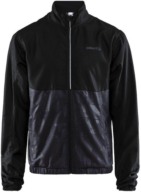 Craft Eaze Jkt M Sportjas Heren - Black/crest