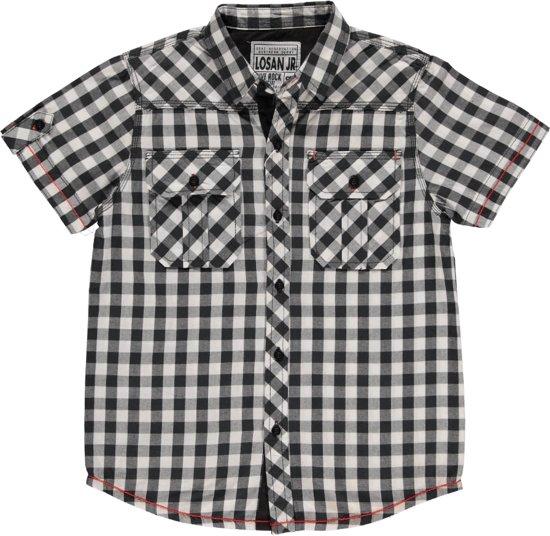 Zwart Wit Geruit Overhemd.Bol Com Losan Outlet Jongeskleding Zwart Wit Geruit Overhemd