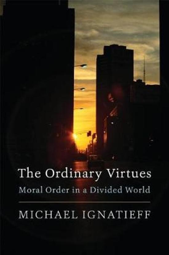 Boek cover The Ordinary Virtues van Michael Ignatieff (Paperback)