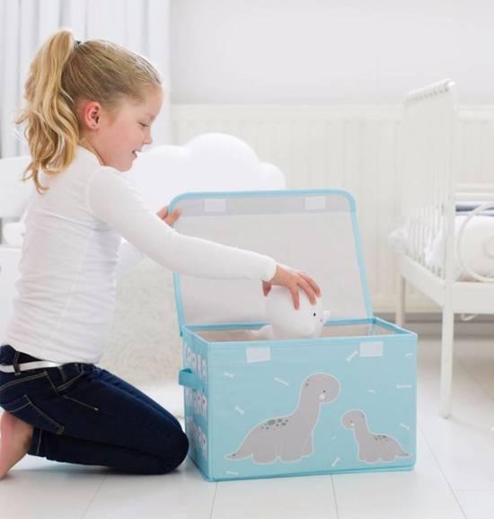 A Little Lovely Company Pop-up opbergbox: Brontosaurus Opbergbox Brontosaurus