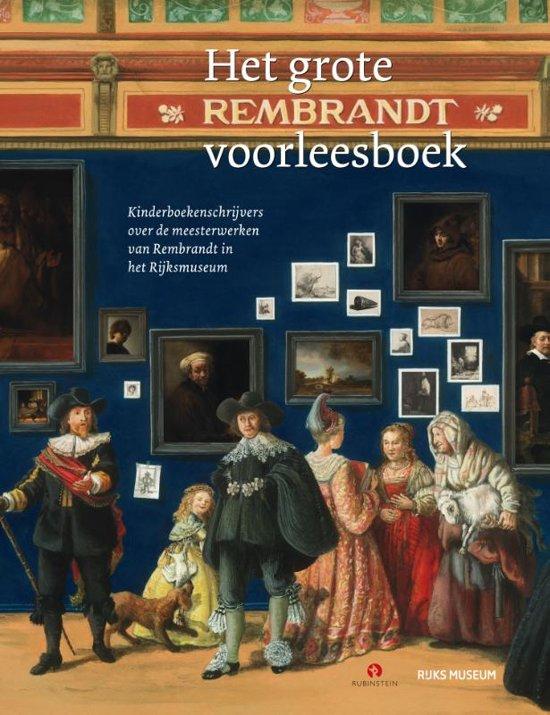 Boek cover Het grote Rembrandt voorleesboek van Joke van Leeuwen (Onbekend)