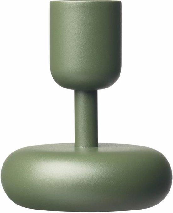Kaarsenhouder 10,7cm mosgroen