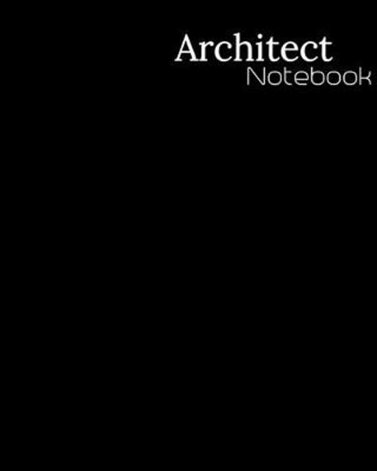 Architect Notebook: 1/4 Inch, 4 Squares Per Inch - Large Size 8.5'' x 11'' Inch - 110 Graphing Paper Pages - Perfect Notebook for Architects