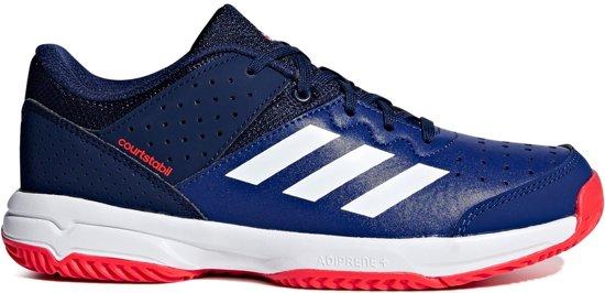 c97acea4325 adidas Court Stabil Junior Indoor Hockeyschoenen - Indoor schoenen - blauw  - 35
