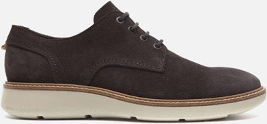 Ecco Chaussures En Dentelle Gris - Hommes - Taille 43 eatGFQ6J