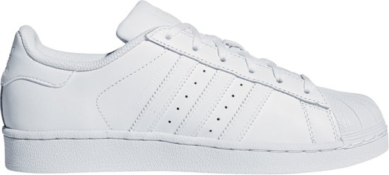 adidas superstar j wit roze