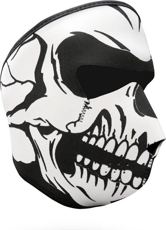 Skull Face Mask - Schedel Skelet Doodshoofd Mond Ski Motor Masker - Skimasker Mondmasker