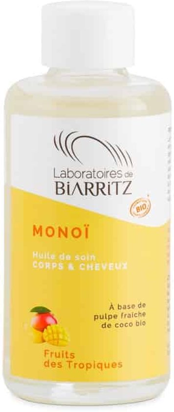 Organic Monoï Oil Tropical Fruit