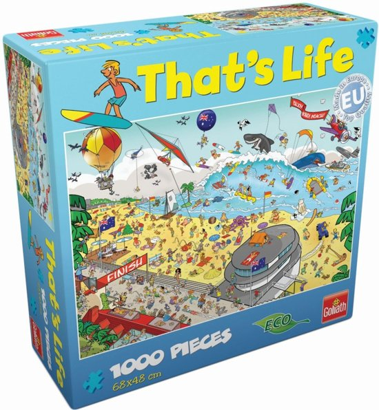 That's Life Puzzle Bondi Beach - Puzzel