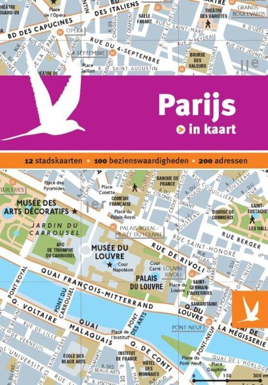 Dominicus stad-in-kaart - Parijs in kaart