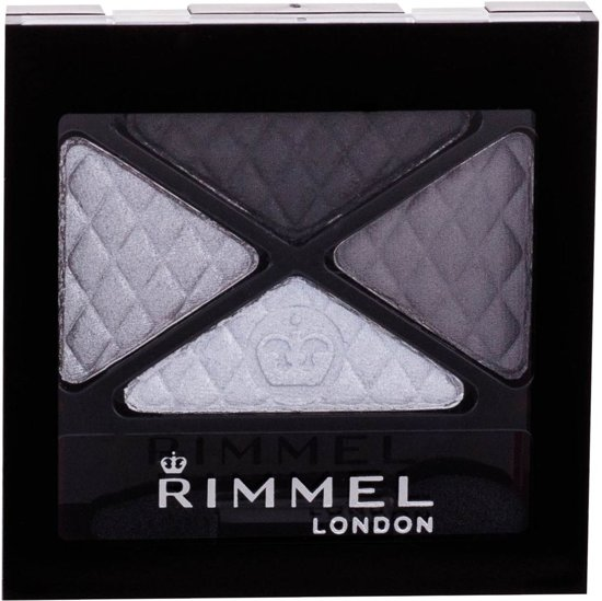 Rimmel London Glam'Eyes Quad Oogschaduwpalet - 001 Smokey Noir