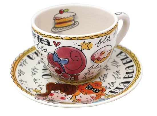 Blond Amsterdam Even Bijkletsen - Kop en Schotel - 'Time for Tea'