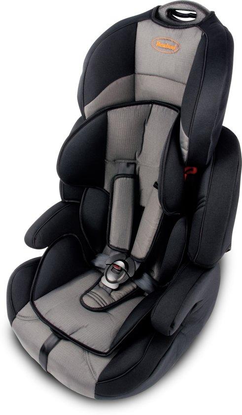Kinderstoel Auto 6 Jaar.Bannini 1 2 3 Autostoel Grey