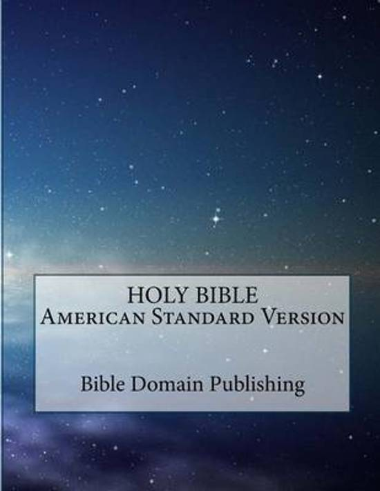 American Standard Version Bible