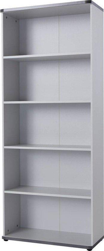 germania profi boekenkast grijs hout