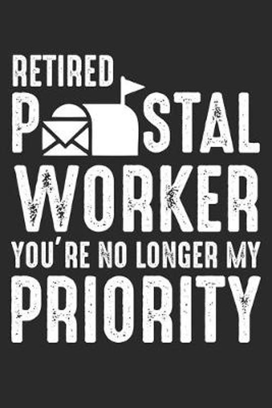 Retired Postal Worker: Postzusteller Ruhestand Notizbuch liniert DIN A5 - 120 Seiten f�r Notizen, Zeichnungen, Formeln - Organizer Schreibhef