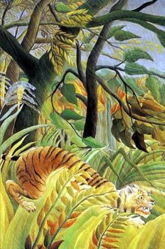 Tiger in a Tropical Storm by Henri Rousseau Journal