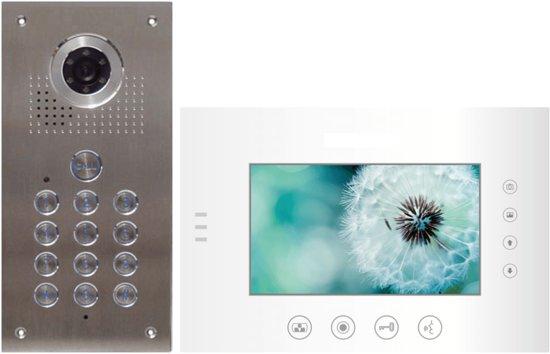 Futuro Video Intercom inbouw buitenunit met codepaneel