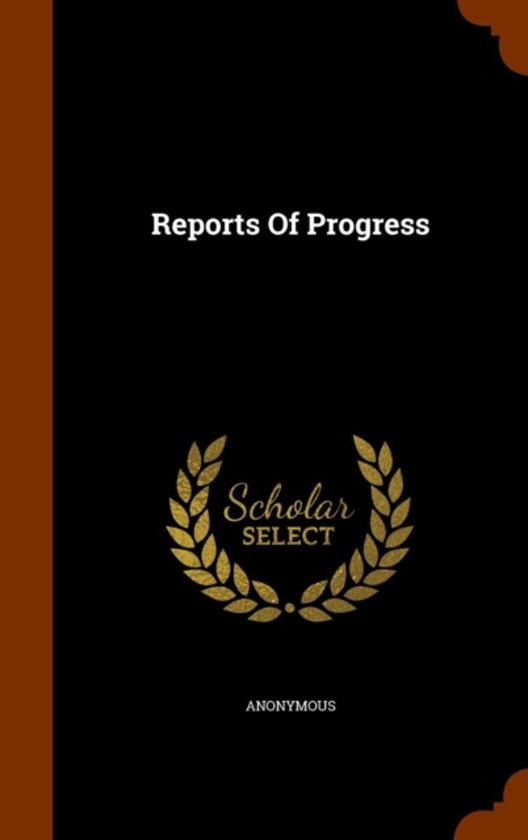Reports of Progress
