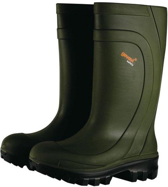 Gevavi Safety Thermotop S4 Groen Veiligheidslaarzen Heren