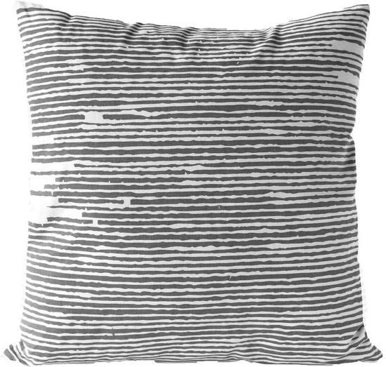 Kussen Zwart Wit.Bol Com Sierkussen Decoratie Kussen Knit 45 X 45 Cm Zwart Wit
