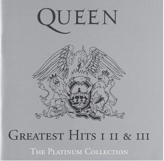 CD cover van Greatest Hits: I II & III: The Platinum Collection van Queen
